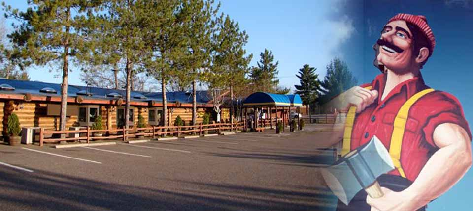 Paul Bunyan's Logging Camp Restaurant Minocqua Wisconsin