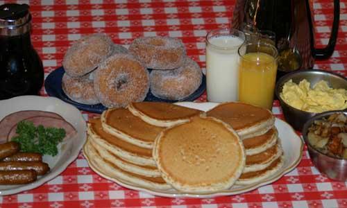 Original Paul Bunyan Cook Shanty Breakfast