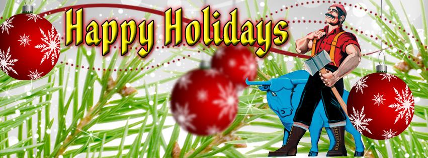 Paul Bunyan Merry Christmas