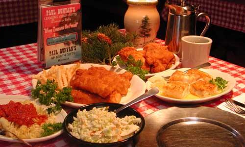 Fish Fry Paul Bunyan